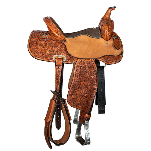 "12 Gauge Elite Custom Barrel Saddle 14"" (ELSDDL12), Saddle, 12 Gauge Ranch, 12 Gauge Ranch Ranch  12 Gauge Ranch"