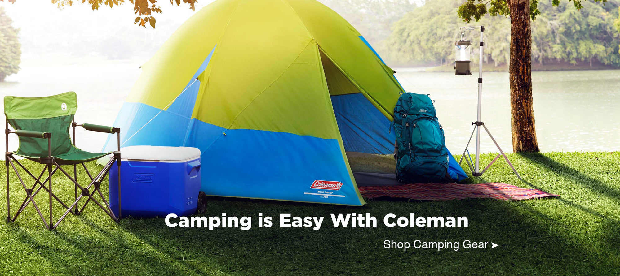 Your camping gear is waiting at Easy Plum