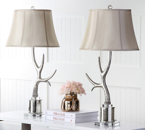 ADELE ANTLER 16-INCH H TABLE LAMP