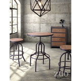 TWIN PEAKS COUNTER STOOL D. NATURAL