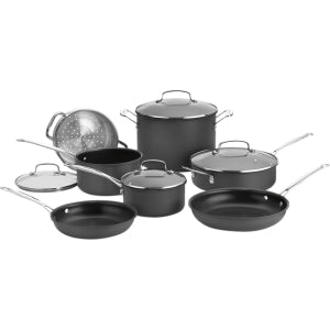 Cuisinart Chef's Classic Non-Stick Hard Anodized Cookware 11-Piece Set