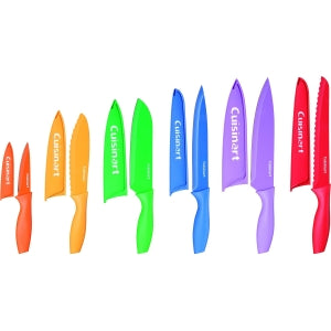 Cuisinart 12Pc Color Knife Set with Blade Guards - 12 Piece(s) KNIFE SET