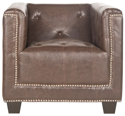 Bentley Club Chair - Silver Nail Heads