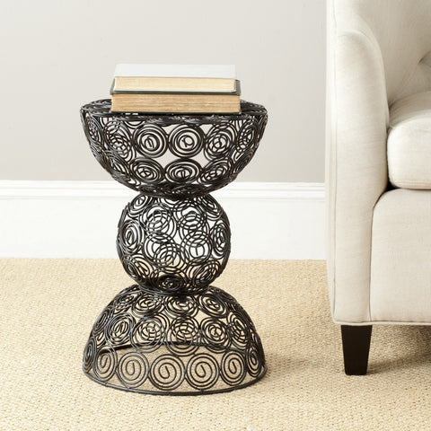 Leila Iron Wire Stool