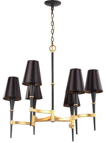 ALROY 3 LIGHT 30-INCH DIA CHANDELIER