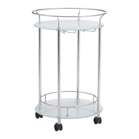 PLATO SERVING CART STAINLESS STEEL