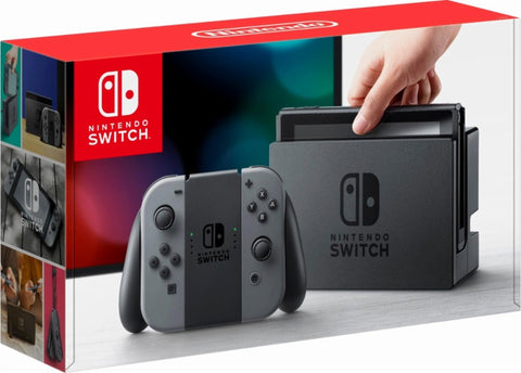 Nintendo Switch 32GB w Gray Joy Console