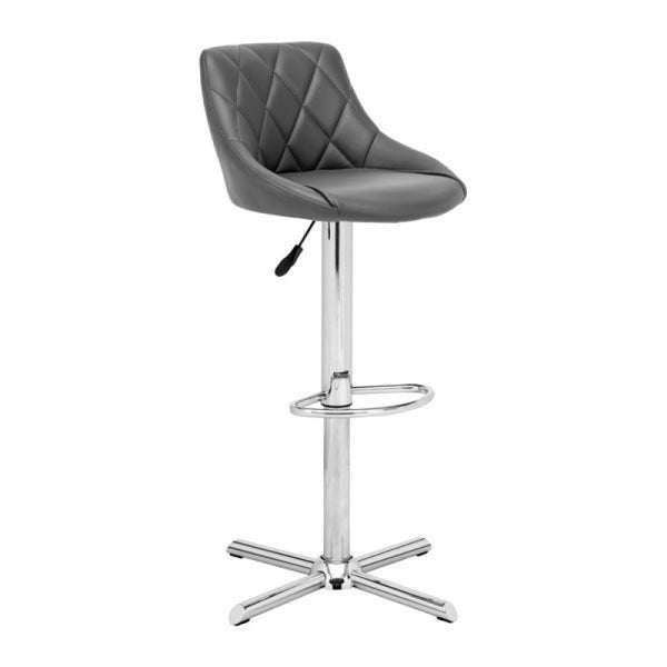 DEVILIN BAR CHAIR GRAY