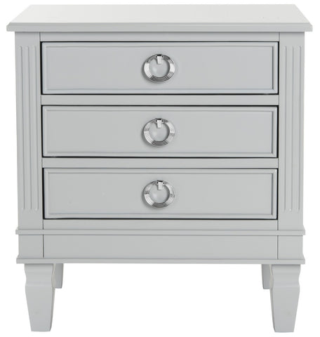 Kira Three Drawer Night Stand