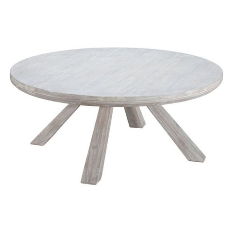 BEAUMONT ROUND COFFEE TABLE SUN D.ACACIA