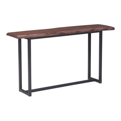 PAPILLION CONSOLE TABLE D. CHERRY OAK