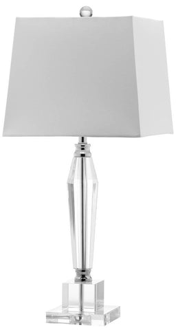 AIDEN 27-INCH H FACETED CRYSTAL LAMP
