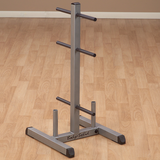 Body-Solid Standard Plate Tree & Bar Holder