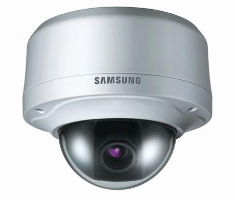 "Samsung Scv-2080 Rb- 1-3"""" High Resolution Vandal-resistant Dome - Refurbished"