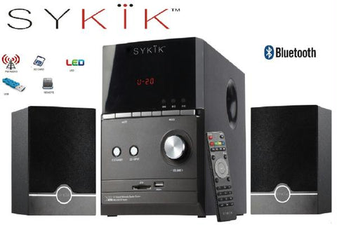 "Sykik Sound SPME51 , Powerful Bluetooth Sound System, With 5"""" Su"