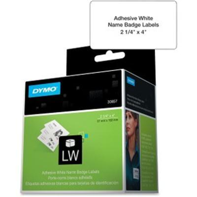 Label Dymo White Adhesive Name
