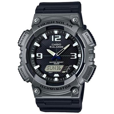 Gunmetal Ana Digi Watch
