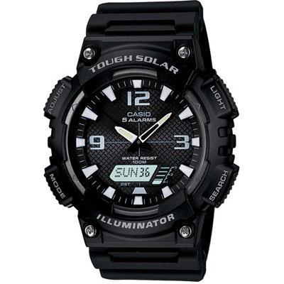 Ana Digi Solar Watch Black