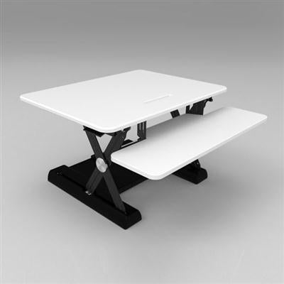 Sit Stand Desk White