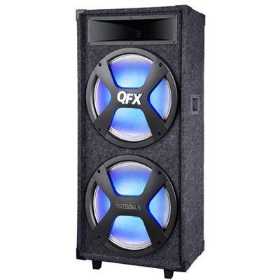 "Bt Pa Speaker With 2 15"" Woofers"