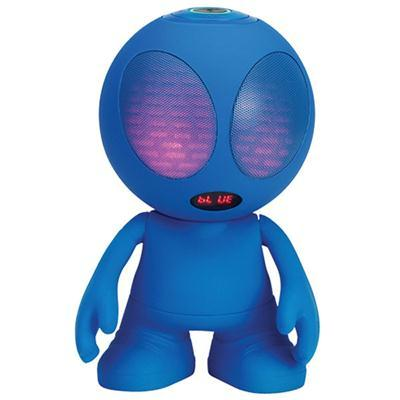 Alien Bluetooth Speaker Blue