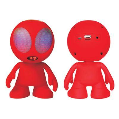 Alien Bluetooth Speaker Red