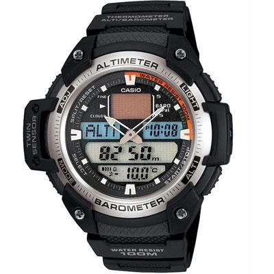 Twin Sensor Men Altimeter Watc
