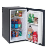 Superc 2.5cf Fridge Black Ob