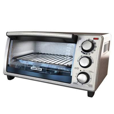 Bd 4slice Toaster Oven Ss