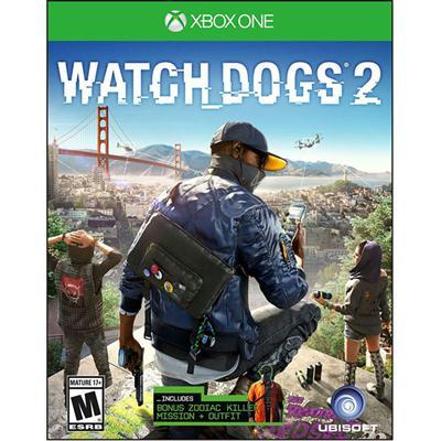 Watch Dogs 2  Xbox 1