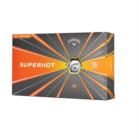 Callaway Superhot 18 Golf Balls - 15 Pack White