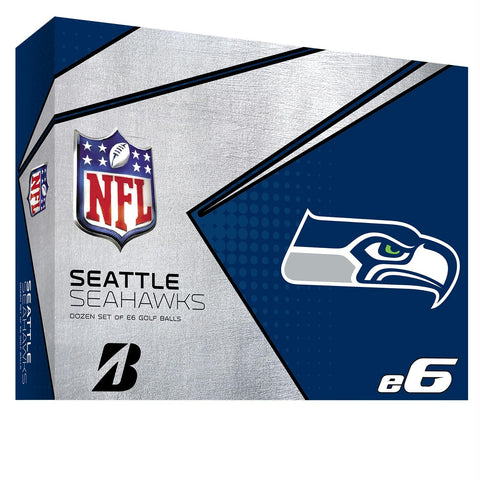 Bridgestone E6 Seattle Seahawks Golf Balls-Dozen