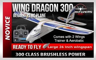 Wing Dragon 300 - RTF RC Plane