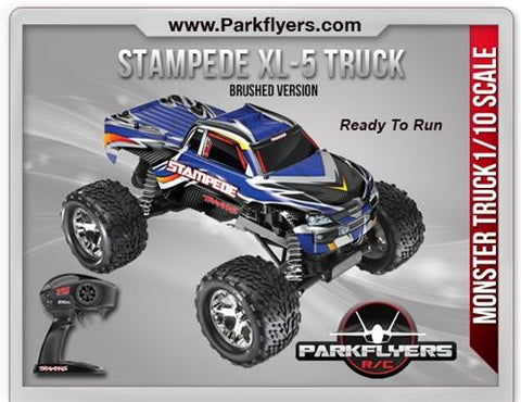Traxxas 1-10 Stampede XL-5 2.4GHz RTR - RC Truck