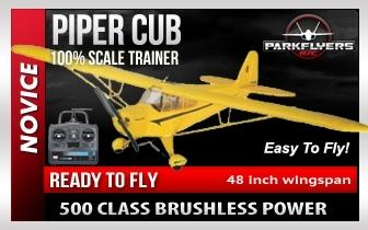 Piper Cub Large Scale RTF Plane