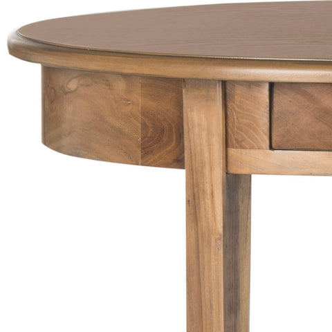 Monica Oval End Table W/ Drawer