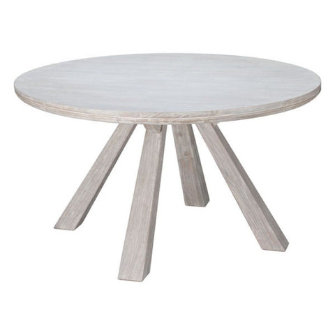 BEAUMONT ROUND DINING TABLE SUN D.ACACIA