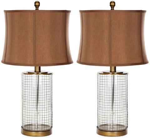 AERIE 26-INCH H GLASS TABLE LAMP