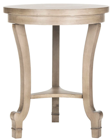 Monty Round Top End Table