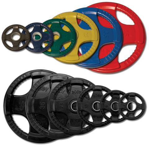 355 lb. Rubber Grip Olympic Set (plates only)