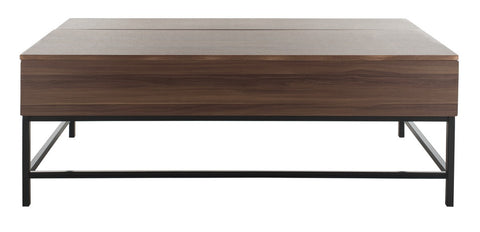 Gina Contemporary Lift-Top Coffee Table