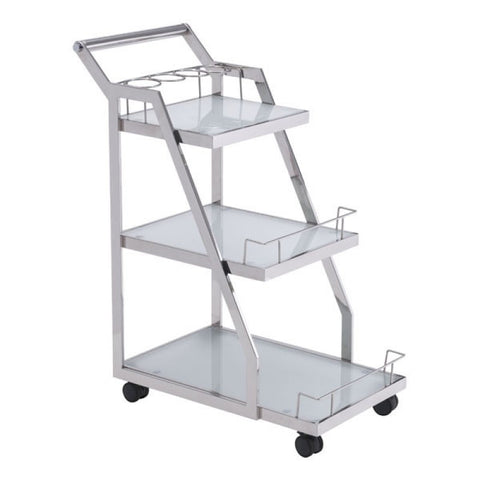 ACROPOLIS SERVING CART STAINLESS STEEL