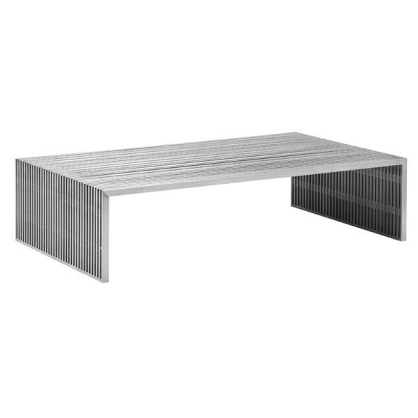 NOVEL RECTANGULAR COFFEE TABLE B. SS