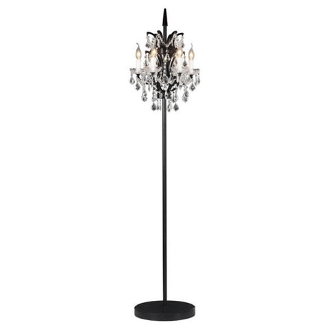 PHOENIX FLOOR LAMP D. BLACK
