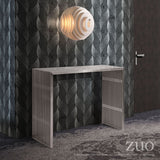 NOVEL CONSOLE TABLE BRUSHED SS