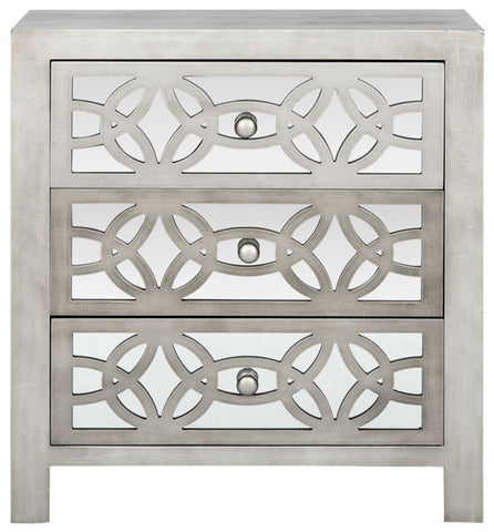 Tasha 3 Drawer Chest/Grey