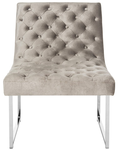 Hadley Velvet Tufted Accent Chair
