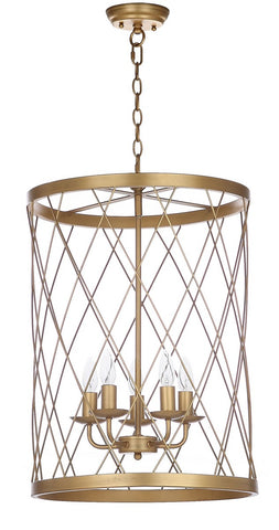ALAIR 18-INCH DIA ADJUSTABLE PENDANT LAMP