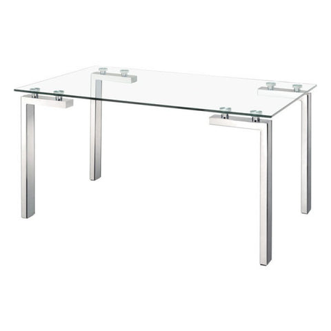 ROCA DINING TABLE POLISHED SS