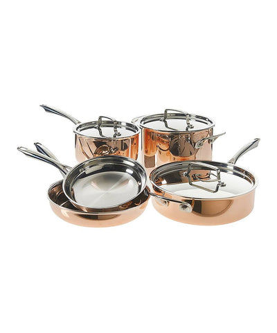 Copper Cuisinart Tri-Ply Cookware